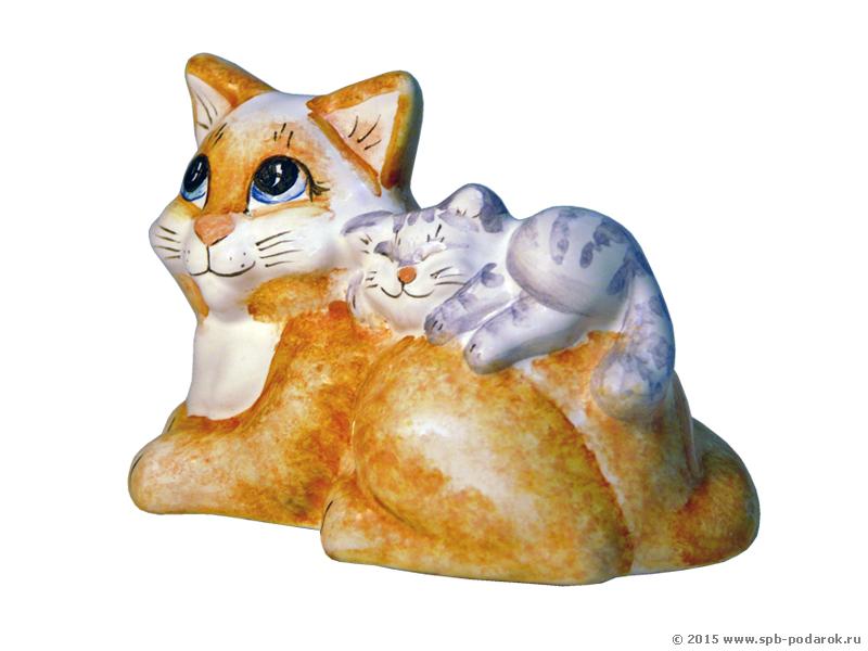 Кошка с котенком / Традиционный русский подарок / Магазин ...