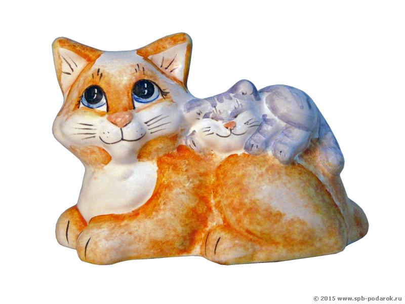 Кошка с котенком / Для коллекционеров / Коллекция котов ...